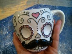 Want it - Mexican Skull Mug