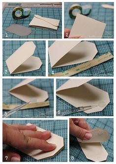 Tutorial for tag card. I tried to pin finished card but it will not let you