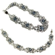 Crystal Drop Bracelet Pattern at Sova-Enterprises.com Lots of free beading patterns and tutorials.