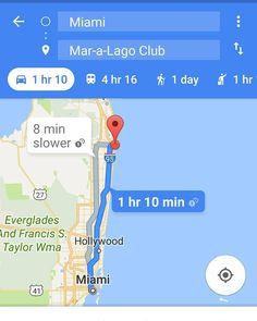 Estimada #Irma cualquier cosa que podamos hacer para guiarte directamente a Mar-a-Lago cuenta con nosotros. Saludos.