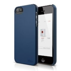 elago S5 Slim Fit 2 Case for New Apple iPhone 5 - eco friendly Retail Packaging - Soft feeling Jean Indigo --- http://www.amazon.com/elago-Slim-Case-Apple-iPhone/dp/B009B57KPI/?tag=zaheerbabarco-20