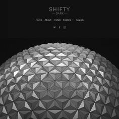 First came Shifty. One of the simplest cleverest and popularest themes weve ever made. Now meet Shifty Dark just as simple just as clever but darker.  Sooooooo much darker.  Designed to let your posts really pop on your blog Shifty Dark is happy to disappear into the background and let your content be the star of the show.  Shifty Dark is particularly great at showing off photos and artwork and will display photosets in all their glory on the home page. Your images are going to look super…