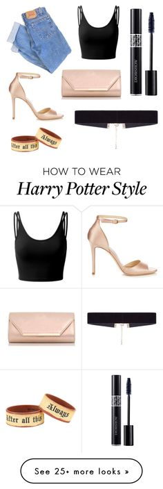 """""""READ THE D"""" by simplymollyrose on Polyvore featuring Levi's, Doublju, Jimmy Choo, Christian Dior, Dorothy Perkins, 8 Other Reasons and Warner Bros."""