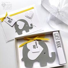 Alternativa bebé ducha libro elefante de padres Consejo Notelets, deseos para el bebé, libro, recuerdo de ducha bebé, los padres sean. de MyPaperPlanet en Etsy