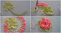 How To Crochet This Attractive Flower - Tutorial