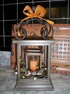 Layered Drakes with products from www.imagine.willowhouse.com  Lantern inside of lantern.  Interesting.