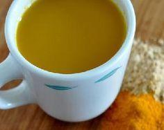 Напитки c куркумой - секрет уникального долголетия.  - стакан теплого молока  - 1/4 ч. ложка куркумы  - чайная ложка меда