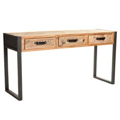 I pinned this Yuma Console Table from the Finley & Co. event at Joss and Main!