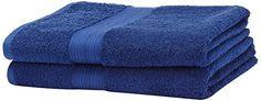 AmazonBasics Lot de 2grands draps de bain résistants à la décoloration Bleu roi #AmazonBasics #grands #draps #bain #résistants #décoloration #Bleu