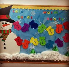 Easy Christmas Classroom Decorations you'll have to check out before you scroll up Before the Holiday Season kicks in and you say goodbye to your friends why don't you check out some Easy Christmas Classroom decorations ideas and do it! December Bulletin Boards, Christmas Bulletin Boards, Winter Bulletin Boards, Preschool Bulletin Boards, Bullentin Boards, Christmas Bulletin Board Decorations, Christmas Classroom Door, Kindergarten Christmas, Classroom Board