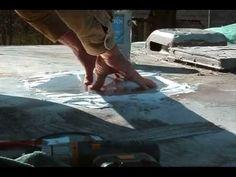 RV roof repair 101 - how to fix a leak
