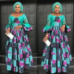 The Ankara fabric can be used to make a different and creative dresses. We have unique selectedAnkara And Aso Ebi Styles Ankara And Aso Ebi Styles African Fashion Ankara, Latest African Fashion Dresses, African Print Fashion, Africa Fashion, Nigerian Fashion, Long African Dresses, African Print Dresses, Ankara Stil, African Traditional Dresses
