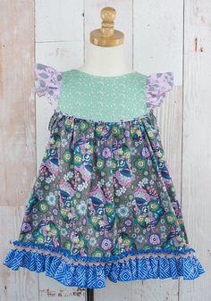 Matilda Jane Platinum Dustin Flutter Dress $72