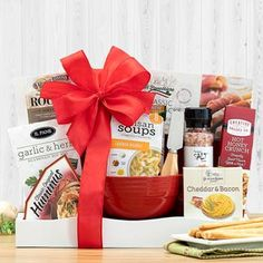 Get Well Gift Baskets - Get Well Gift Basket Get Well Gift Baskets, Feeling Under The Weather, Get Well Soon Gifts, Bowl Of Soup, Wood Tray, Feel Better, Bacon, Goodies, Wellness