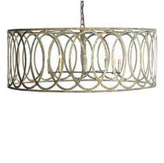 Ooh, the finish! Definitely explore.  Georgina Lantern Chandelier Large