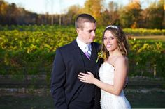 {Wedding Venues   Perks of a Vineyard}    The Pink Bride www.thepinkbride.com    Image courtesy of A.J. Holmes Photography.    #wedding #vineyard #bride #groom