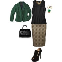 """""""plus size business fab"""" by kristie-payne on Polyvore"""