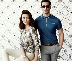 Janie Bryant designed for Banana Republic, Mad Men inspired collection-Spring 2012.