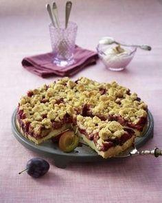 Pflaumenkuchen mit Zimtstreuseln Rezept