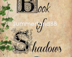Home Blessing Spell Digital Download Book of by SummerlandBB