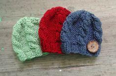 Baby Hat Girl Hat Newborn Hat Photo Prop boy Knit by IfonBabyLand