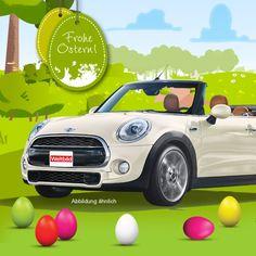 Tolles Oster-Gewinnspiel! Finde die Eier und gewinne tolle Preise z.B. ein MINI Cabrio!