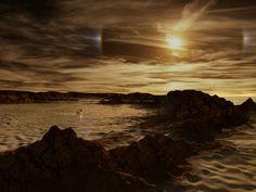 "Cassini Find: ""Salt Flats"" Surround Titan's Northern Lakes"