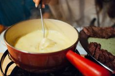 Amsterdam Cray !!! Fondue and Entrecote Steak at Cafe Bern!