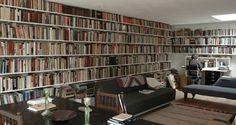 Shedworking: Forest Pond House, sunken library, KREOD