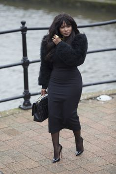 BLACK NEVER FAILS | Style Is My Thing