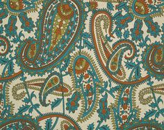 Kitchen curtains. (I love paisley, my husband hates it..but who spends the most time in the kitchen?)
