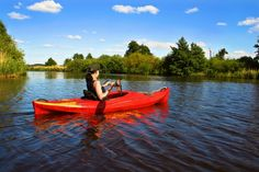 Kayaking in Vladimir region