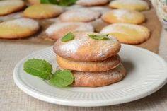 Кокосовое печенье с лимоном ароматное