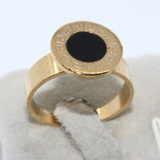 Unique Jewelry - RR04 Gothic Gold Stainless steel Fashion New Jewelry Men Women Ring Size 7