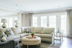 Casual cozy living room