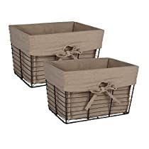 Check this out at Amazon Wire Storage, Storage Baskets, Storage Containers, Metal Chicken, Chicken Pen, Vintage Wire Baskets, Metal Baskets, Basket Liners, Vintage Storage