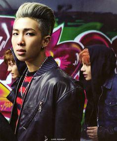 LOVE MOMENT :: SKOOL LUV AFFAIR 랩몬스터 Namjoon, Rapmon, Bts Skool Luv Affair, Bts Big Hit, Bts Concept Photo, Rap Lines, Bts Rap Monster, Kpop, Bts Photo