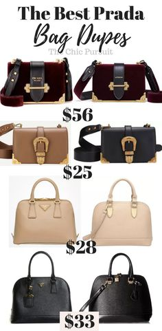fb64b3bcef The Best Prada Bag Dupes For Under  70! Get The Luxury Look For Less