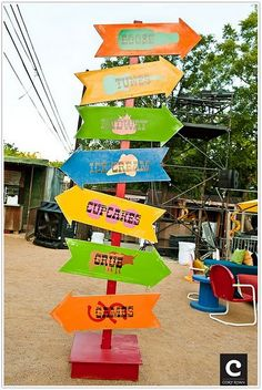 Vintage Carnival Birthday Circus Party - Kara's Party Ideas - The Place for All Things Party Carnival Signs, Circus Carnival Party, Spring Carnival, Christmas Carnival, School Carnival, Carnival Birthday Parties, Circus Birthday, Vintage Carnival, Carnival Games