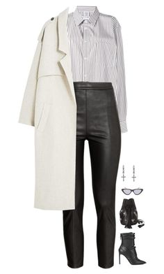 """""""Geen titel #2481"""" by voidpietro ❤ liked on Polyvore featuring BOSS Black, Vetements, Rachel Entwistle, H&M, Wendy Nichol, Topshop and MANGO"""