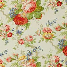 GARDEN CLUB WHITE - Floral/Foliage - Shop By Pattern - Fabric - Calico Corners