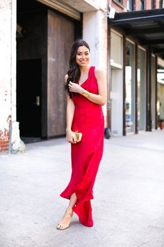 Holiday Party Outfit Ideas | Red Romance