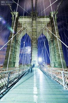 Brooklyn Bridge - Walk across it at night. You won't be disappointed!