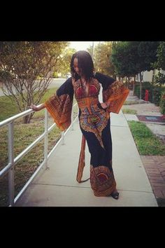 Dashiki dress~Latest African Fashion, African Prints, African fashion styles, African clothing, Nigerian style, Ghanaian fashion, African women dresses, African Bags, African shoes, Nigerian fashion, Ankara, Kitenge, Aso okè, Kenté, brocade. ~DK