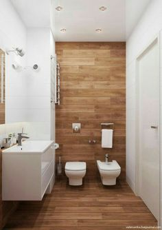 Explore these bathroom decor ideas for your small space. Get storage ideas, tile ideas, and ideas for your next remodel with our favorite small bathroom decorating ideas! Simple Bathroom, Modern Bathroom, Master Bathroom, 1950s Bathroom, Bathroom Vanities, Bathroom Storage, Bathroom Trends, Bathroom Interior, Bathroom Ideas