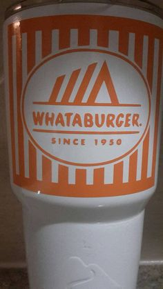 Whataburger OZARK TRAIL by ByBrittCo on Etsy $60