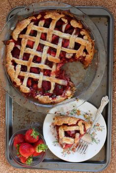 Strawberry Basil Pie - Young, Broke and Hungry Strawberry Balsamic, Strawberry Pie, Strawberry Recipes, Pie Crust Recipes, Apple Pie Recipes, Pie Crusts, Pie Shop, Best Pie, Fruit Pie