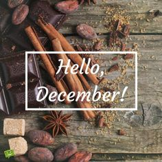 Hello December ☃ : QUOTATION – Image : Quotes Of the day – Description Hello, December! Sharing is Power – Don't forget to share this quote ! Hello December Quotes, Hello December Images, Hello November, It's December, Winter Christmas, Christmas Time, Christmas Ornaments, New Month Wishes, Birthday Celebration Quotes