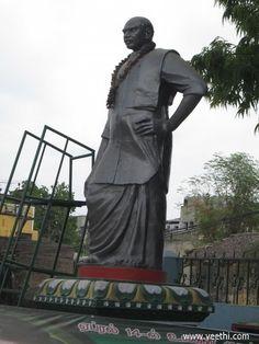Kamarajar Statue - Mangadu - Tamilnadu