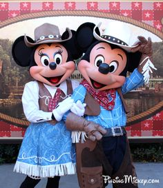 Square dancing Minnie & Mickey----Love taking our Grandchildren to Disney World when they were 6 years old!